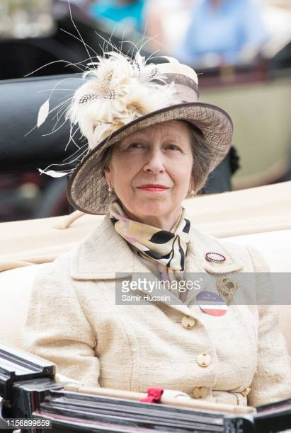 Princess Anne Princess Royal on day one of Royal Ascot at Ascot Racecourse on June 18 2019 in Ascot England
