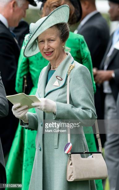Princess Anne Princess Royal on day three Ladies Day of Royal Ascot at Ascot Racecourse on June 20 2019 in Ascot England