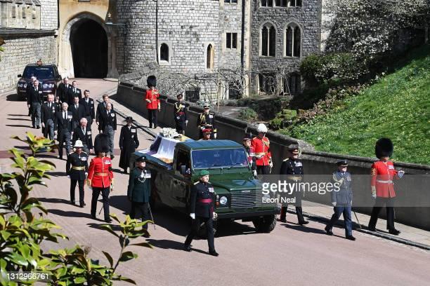 Princess Anne, Princess Royal; Prince Charles, Prince of Wales; Prince Andrew, Duke of York; Prince Edward, Earl of Wessex; Prince William, Duke of...