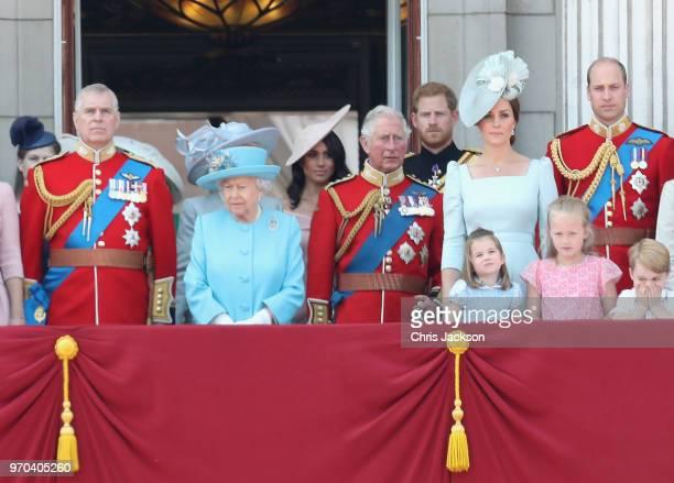 Princess Anne Princess Royal Princess Beatrice Lady Louise Windsor Prince Andrew Duke of York Queen Elizabeth II Meghan Duchess of Sussex Prince...