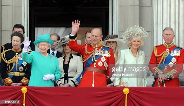 Princess Anne Princess Royal Queen Elizabeth II Sophie Countess of Wessex Prince Philip Duke of Edinburgh Autumn Kelly Camilla Duchess of Cornwall...
