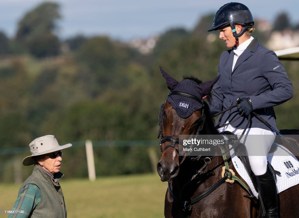 Gatcombe Horse Trials at Gatcombe Park : News Photo