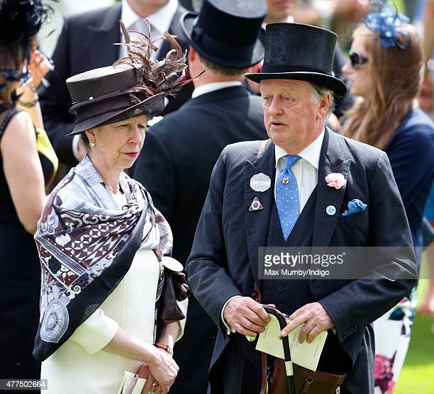 Princess Anne The Princess Royal and Andrew Parker Bowles attend day 2 of Royal Ascot at Ascot Racecourse on June 17 2015 in Ascot England