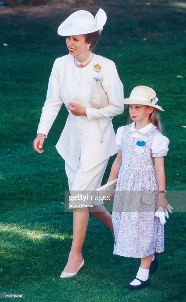 Members of The Royal Family attend The Royal Ascot Race meeting 1989 : News Photo