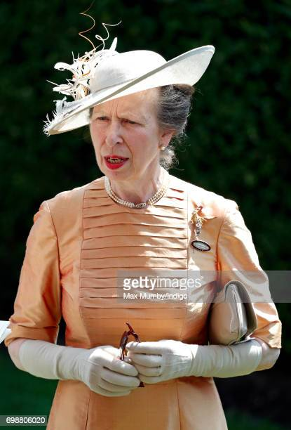 Princess Anne The Princess Royal attends day 1 of Royal Ascot at Ascot Racecourse on June 20 2017 in Ascot England