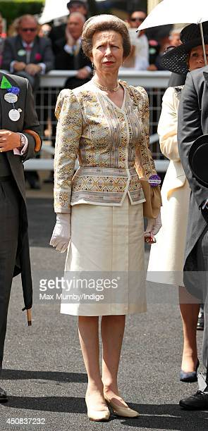 Princess Anne The Princess Royal attends Day 2 of Royal Ascot at Ascot Racecourse on June 18 2014 in Ascot England