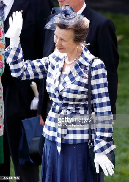 Princess Anne The Princess Royal attends day 2 of Royal Ascot at Ascot Racecourse on June 21 2017 in Ascot England