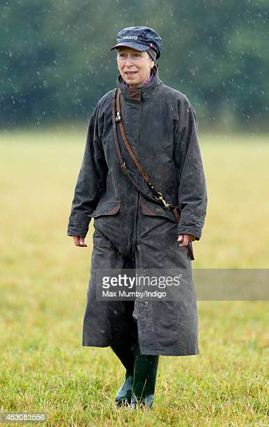Princess Anne The Princess Royal attends day 2 of the Festival of British Eventing at Gatcombe Park on August 2 2014 in Minchinhampton England
