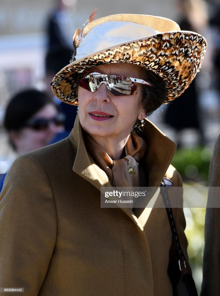 The Duchess Of Cornwall Attends Ladies Day At The Cheltenham Festival - Day 2 : News Photo