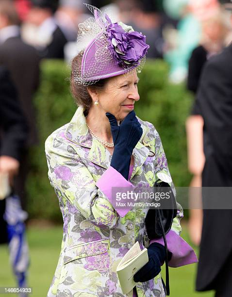 Princess Anne, The Princess Royal attends Ladies Day during Royal Ascot at Ascot Racecourse on June 21, 2012 in Ascot, England.