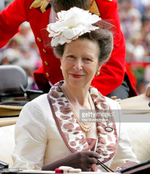 HRH Princess Anne The Princess Royal attends Royal Ascot Ladies Day at Ascot Racecourse on June 17 2010 in Ascot England