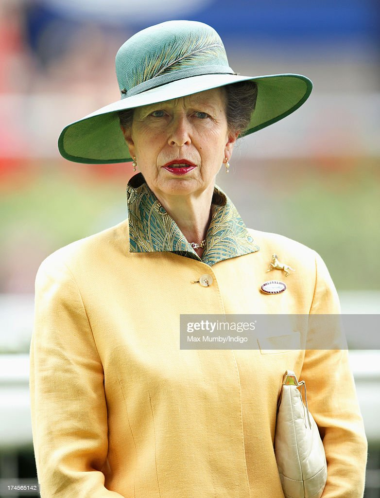 Princess Anne, The Princess Royal attends the Betfair Weekend, featuring the King George VI and Queen Elizabeth Stakes, at Ascot Racecourse on July 27, 2013 in Ascot, England.