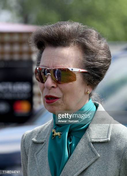 Princess Anne the Princess Royal attends the Royal Windsor Horse Show on May 10 2019 in Windsor England