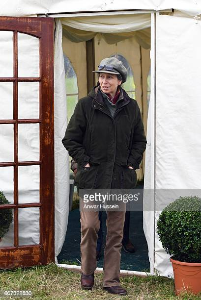 Princess Anne The Princess Royal attends the Whatley Manor Gatcombe Horse Trials despite having to cancel several events and a visit to Botswana and...