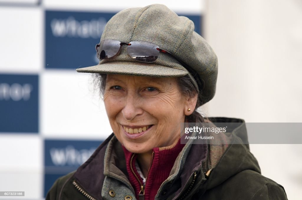 Princess Anne, The Princess Royal, attends the Whatley Manor Gatcombe Horse Trials, despite having to cancel several events and a visit to Botswana and Mozambique due to a chest infection, on September 17, 2016 in Minchinhampton, England.