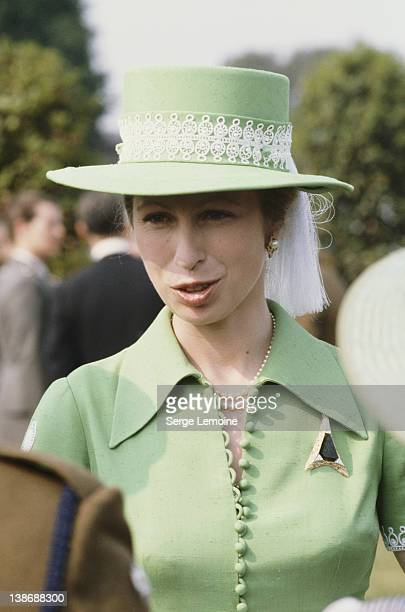 Princess Anne, the Princess Royal, circa 1978.