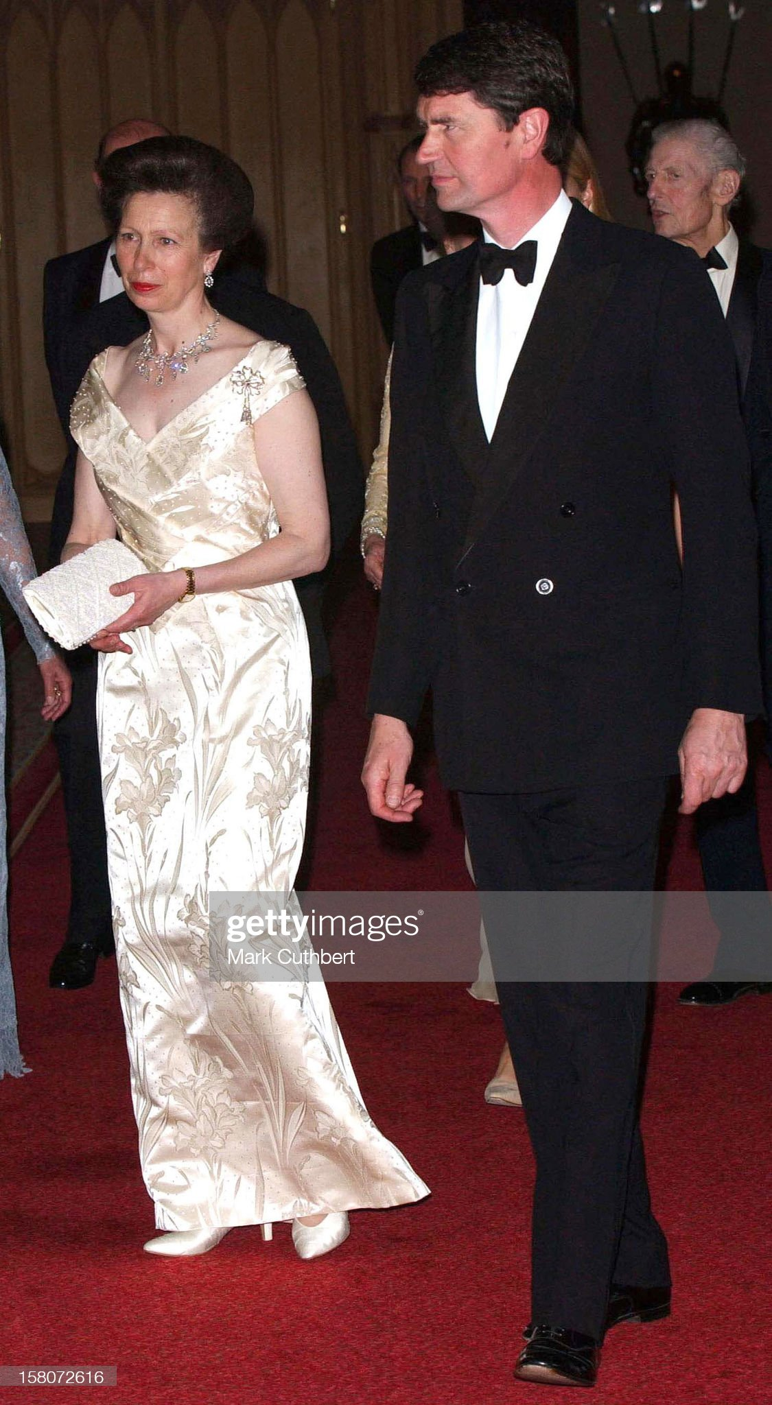 Golden Jubilee Royal Dinner At Windsor Castle. : News Photo