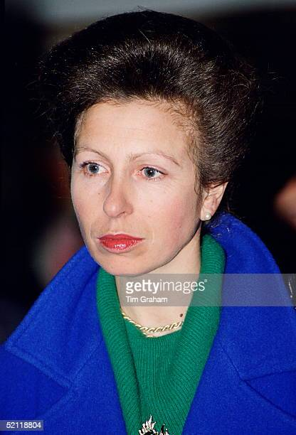 Princess Anne Visiting A London Youth Club Where She Is President