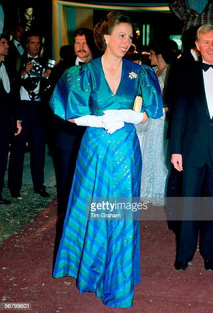 Princess Anne Evening Gowns Pictures and Photos | Getty Images
