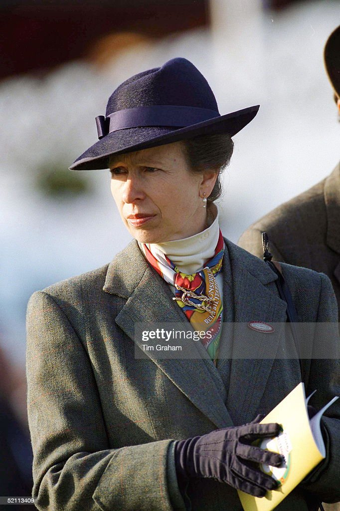Anne At The Races : News Photo
