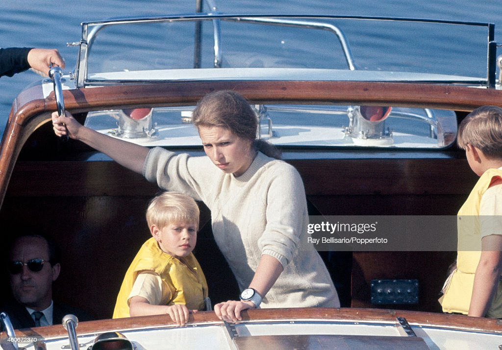 Princess Anne And Her Younger Brothers During A State Visit To Norway : ニュース写真