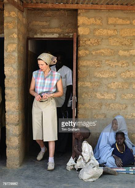 Princess Anne working for Save The Children Fund as patron in Gambia