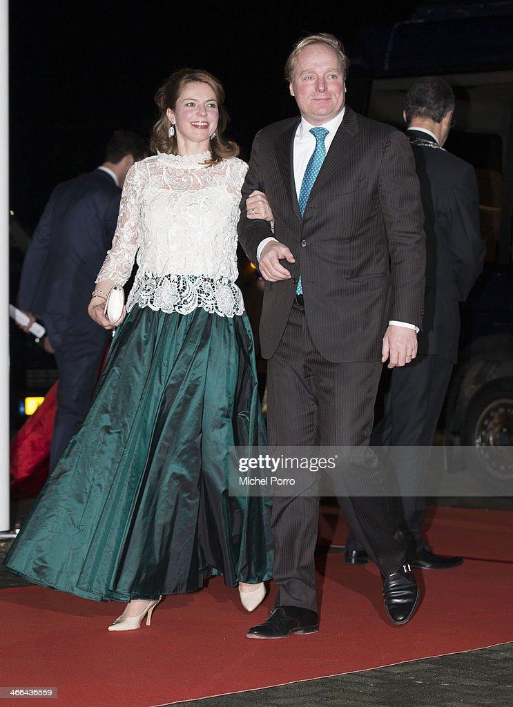 Netherlands Royal Family Attend A Celebration Of Princess Beatrix's Reign : News Photo