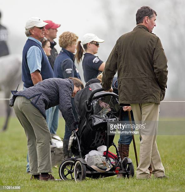 Princess AnneThe Princess Royal Autumn Phillips and ViceAdmiral Tim Laurence attend the Gatcombe Park Horse Trials with Savannah Phillips Peter and...