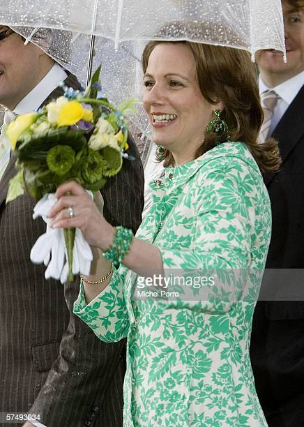 Princess Annette attends the traditional Queens Day celebratons on April 29 2006 Zeewolde The Netherlands Queen Beatrix and several members of the...