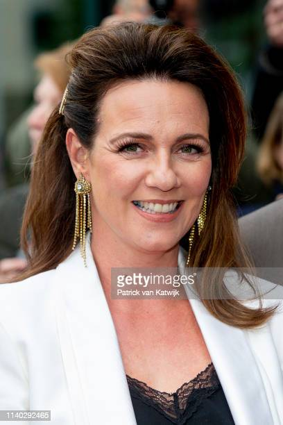 Princess Annette of The Netherlands attends the 80th birthday celebrations for Pieter van Vollenhoven on April 30 2019 in Zeist Netherlands