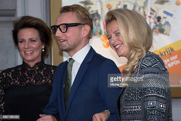 Princess Annette Prince Bernhard jr and Princess Mabel of The Netherlands arrive for festivities marking the final celebrations of 200 years Kingdom...