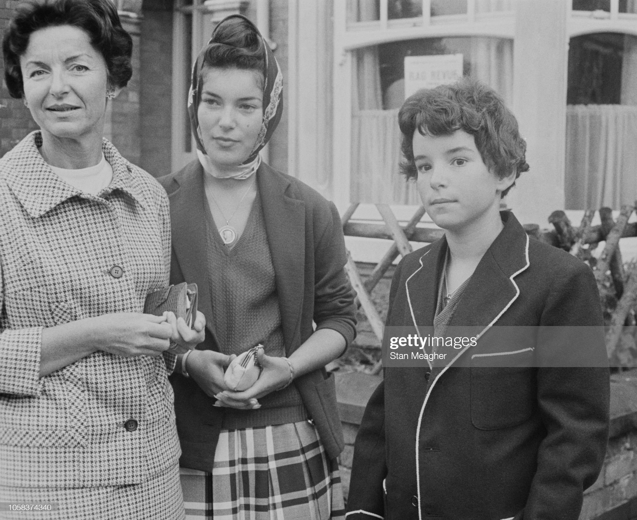 princess-antoinette-baroness-of-massy-with-her-two-daughters-de-and-picture-id1058374340