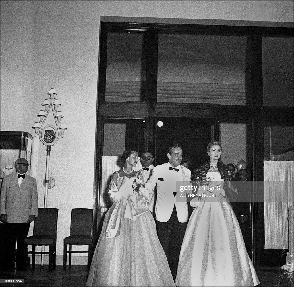 Fifty Years Of The Gala Of Retro Red Cross In Monaco on July 01, 1998. : News Photo