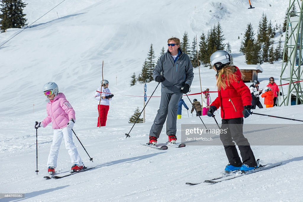 The Dutch Royal Family Hold Annual Photocall In Lech : News Photo