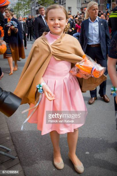Princess Ariane of The Netherlands attends the King's 50th birthday during the Kingsday celebrations on April 27 2017 in Tilburg Netherlands