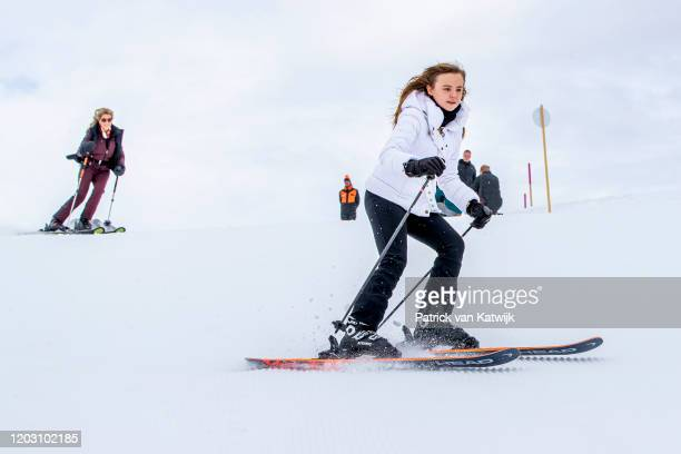 Princess Ariane of The Netherlands during the annual photo call on February 25 2020 in Lech Austria