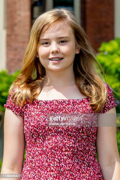 Princess Ariane of The Netherlands during their annual summer photo session at Huis ten Bosch Palace on July 19 2019 in The Hague Netherlands