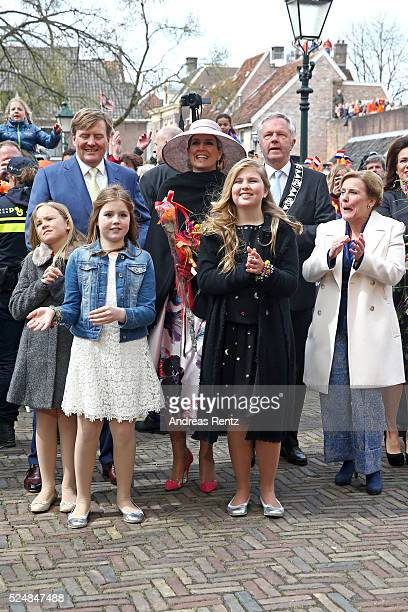 Princess Ariane of The Netherlands King WillemAlexander of The Netherlands Princess Alexia of The Netherlands Queen Maxima of The Netherlands Crown...