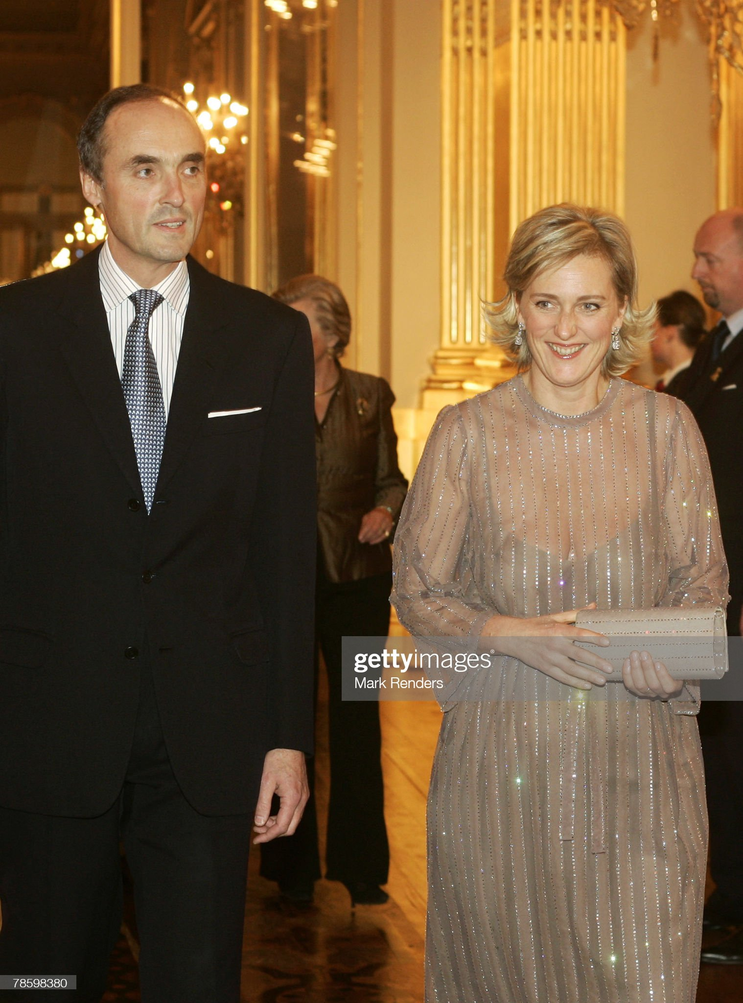 Belgium Royals Attend A Christmas Concert At The Royal Palace : News Photo