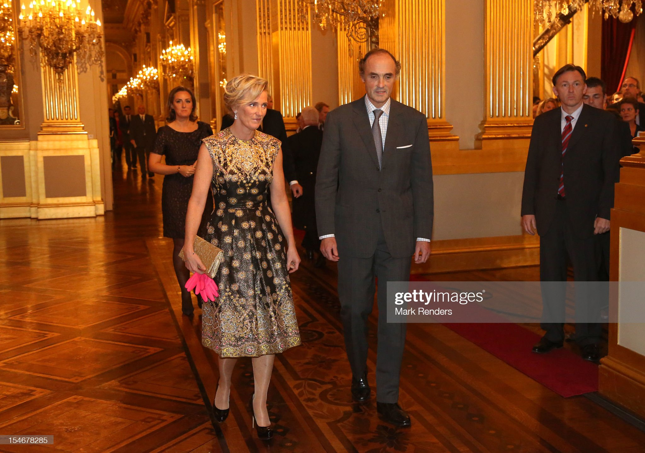 The Belgian Royal Family Hosts A Concert As Part Of 'Festival van Vlaanderen' : News Photo