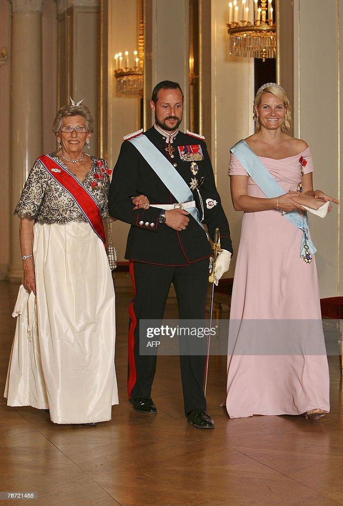 Princess Astrid, Crown Prince Haakon and : News Photo
