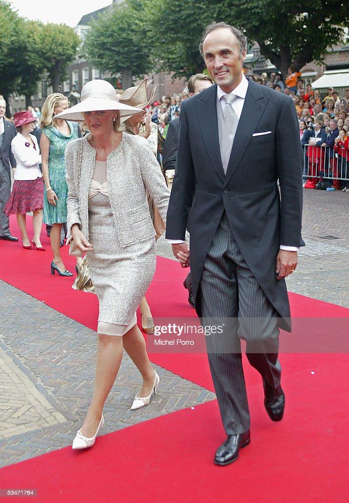 Church Wedding Of Dutch Prince Pieter-Christiaan & Anita Van Eijk : ニュース写真