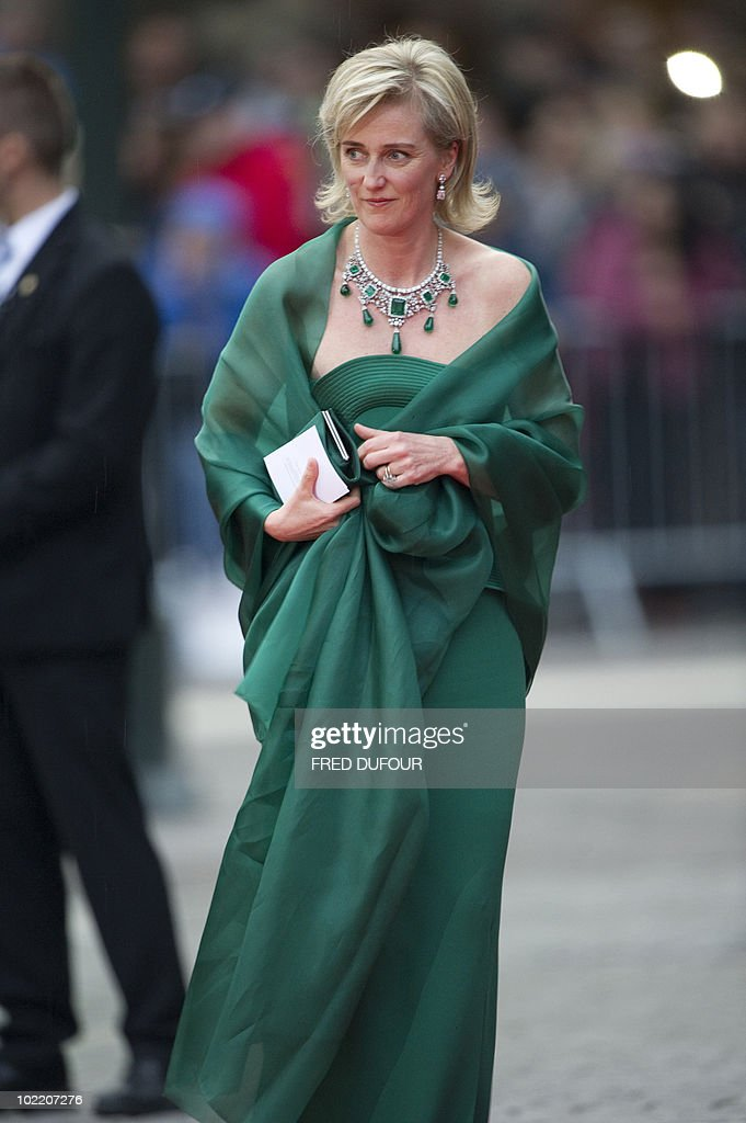 Princess Astrid of Belgium arrives for a : News Photo