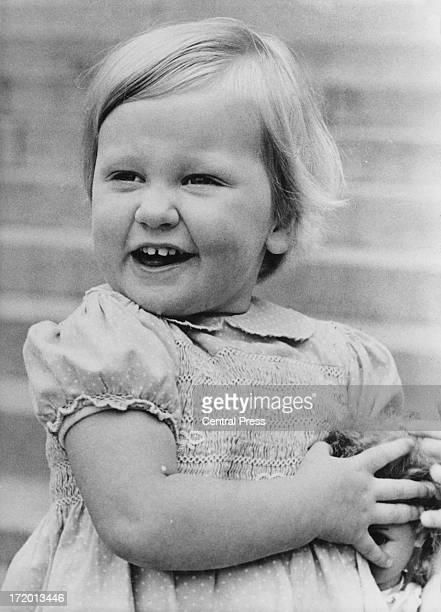 Princess Astrid of Belgium at the Royal Palace of Laeken Brussels 4th June 1964