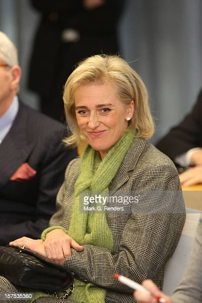 Princess Astrid of Belgium attends Caritas 80th Anniversary at the Province House on December 4 2012 in LouvainlaNeuve Belgium