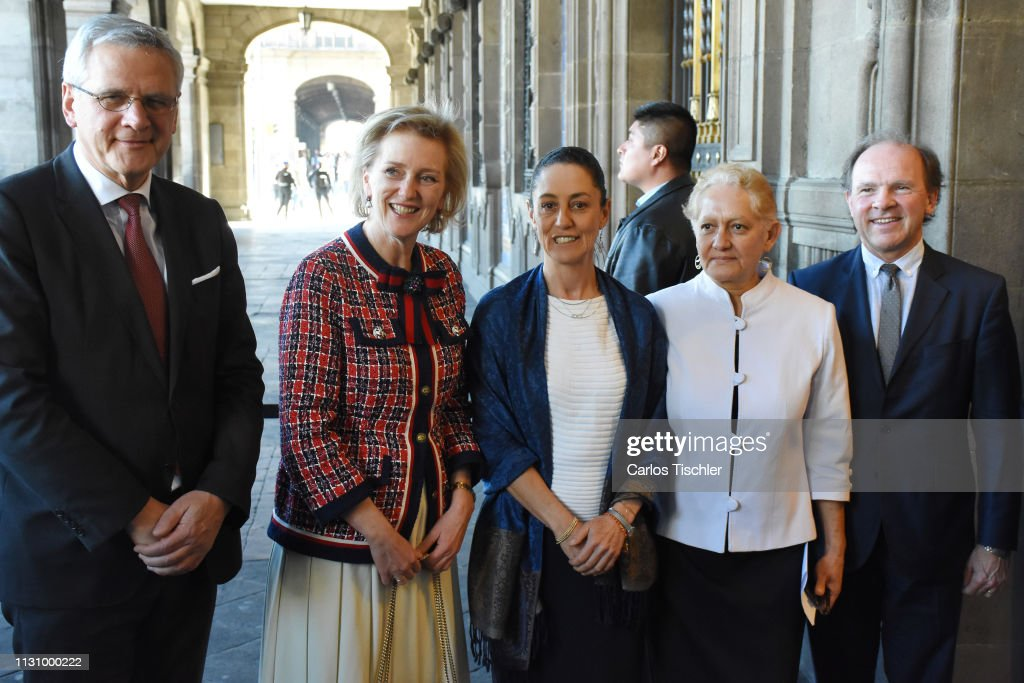 MEX: Princess Astrid of Belgium Visits Mexico