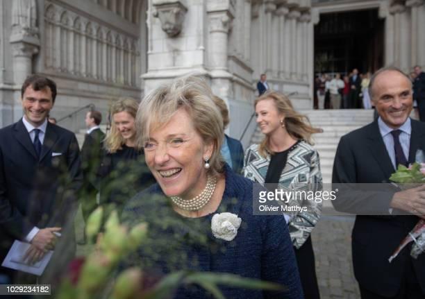 Princess Astrid of Belgium Prince Lorenz of Belgium Prince Amadeo of Belgium Princess Maria Laura of Belgium and Princess Louisa Maria of Belgium...