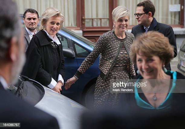 Princess Astrid of Belgium Princess Laurentien of The Netherlands and Princess Margriet of The Netherlands attend the 'European Cultural Foundation...