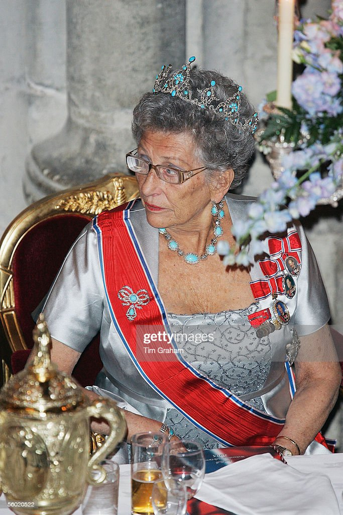 Norwegian Royals Attend Guildhall Dinner : News Photo