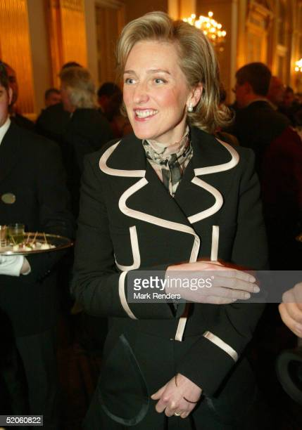 Princess Astrid of the Belgium Royal Family attends a reception at the Royal Palace on January 25, 2005 in Brussels, Belgium. The event sees some of...